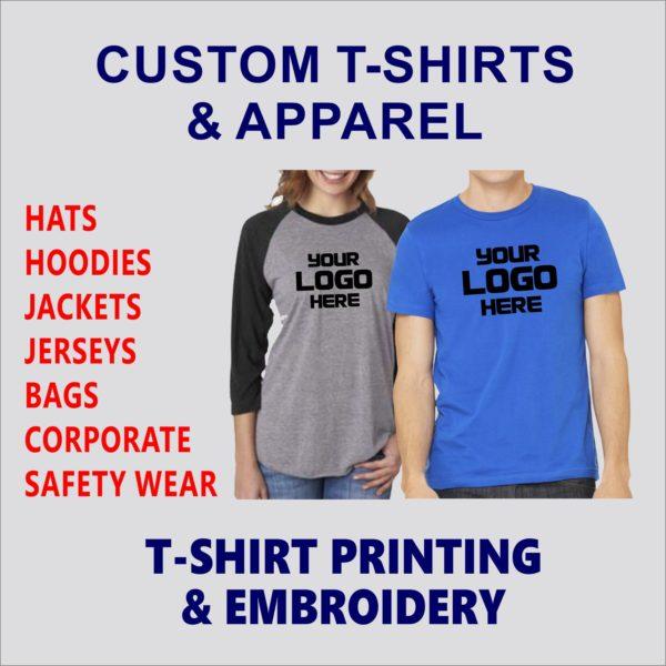 Custom T-Shirts & Apparel
