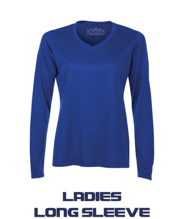 Ladies Long Sleeve