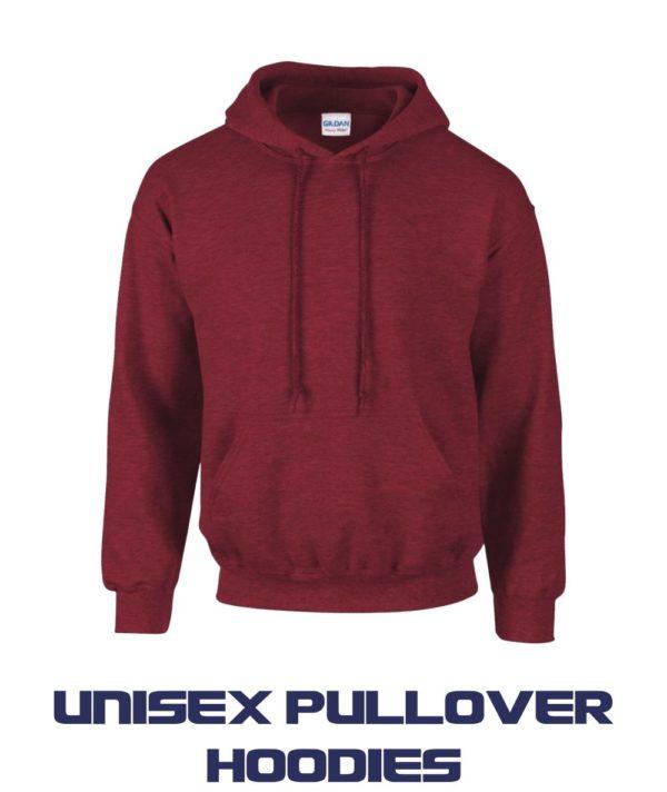 Unisex Pullover Hoodies